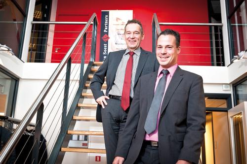 Frank Henegraaf (l), Chris-Stan van Daal