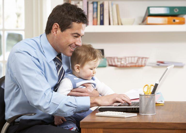 werken met een kind